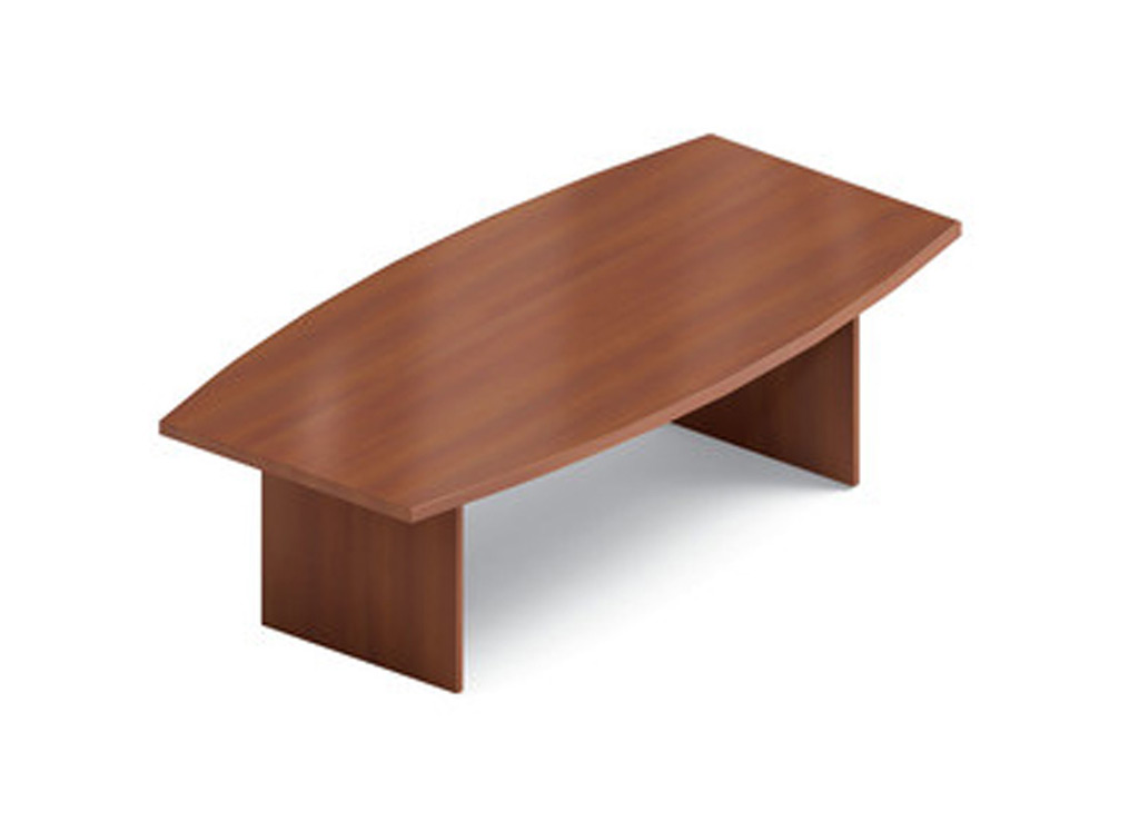 These affordable office furniture tables are made from thermally fused, high performance laminate for easy maintenance.