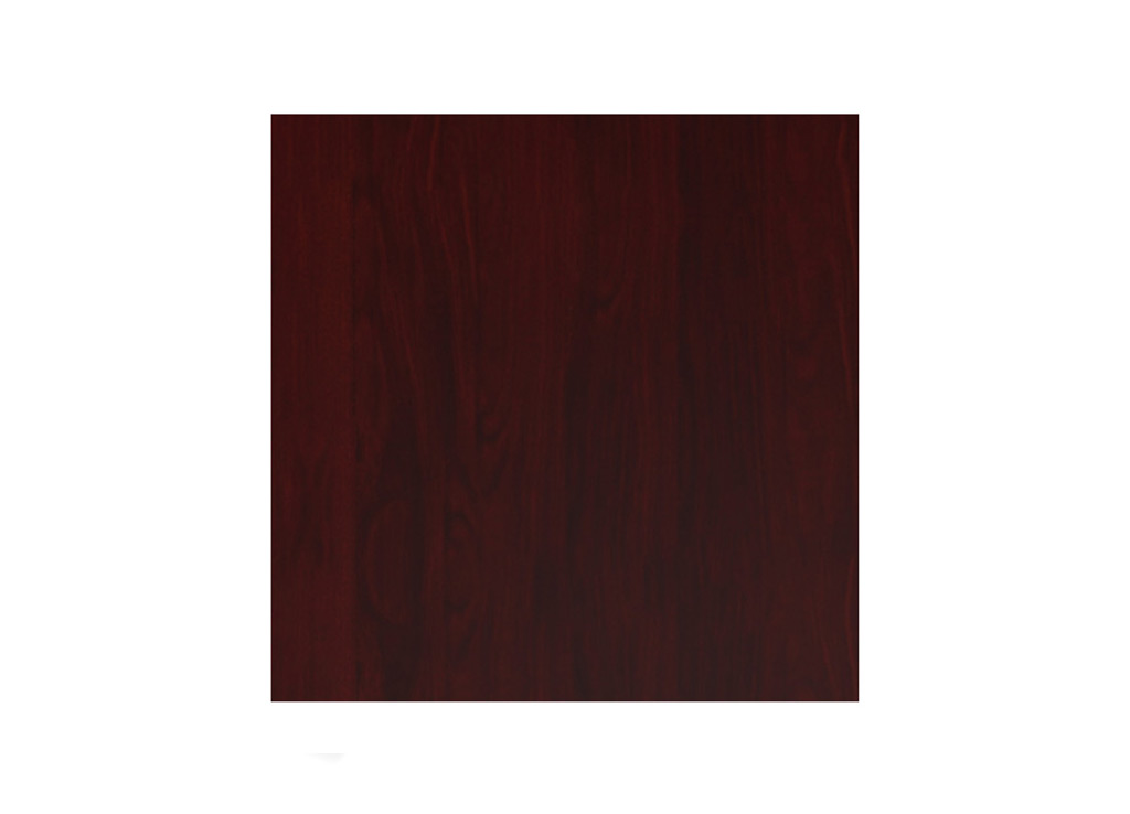Wood Office Furniture Tables - Shown in Henna Mahogany Wood