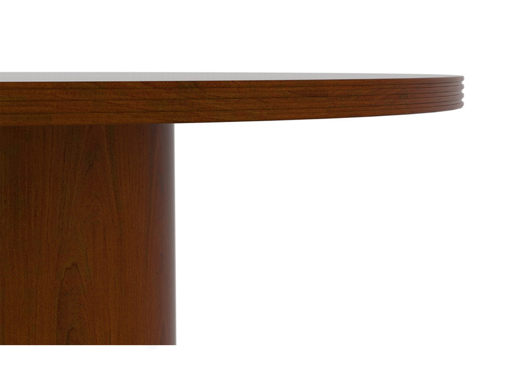 "These wood office furniture table tops are  1 ½"" thick."