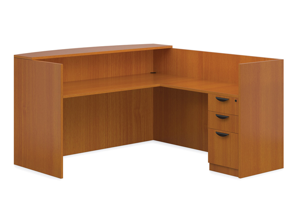 Cheap reception desk affordable lobby furniture for Reasonable furniture
