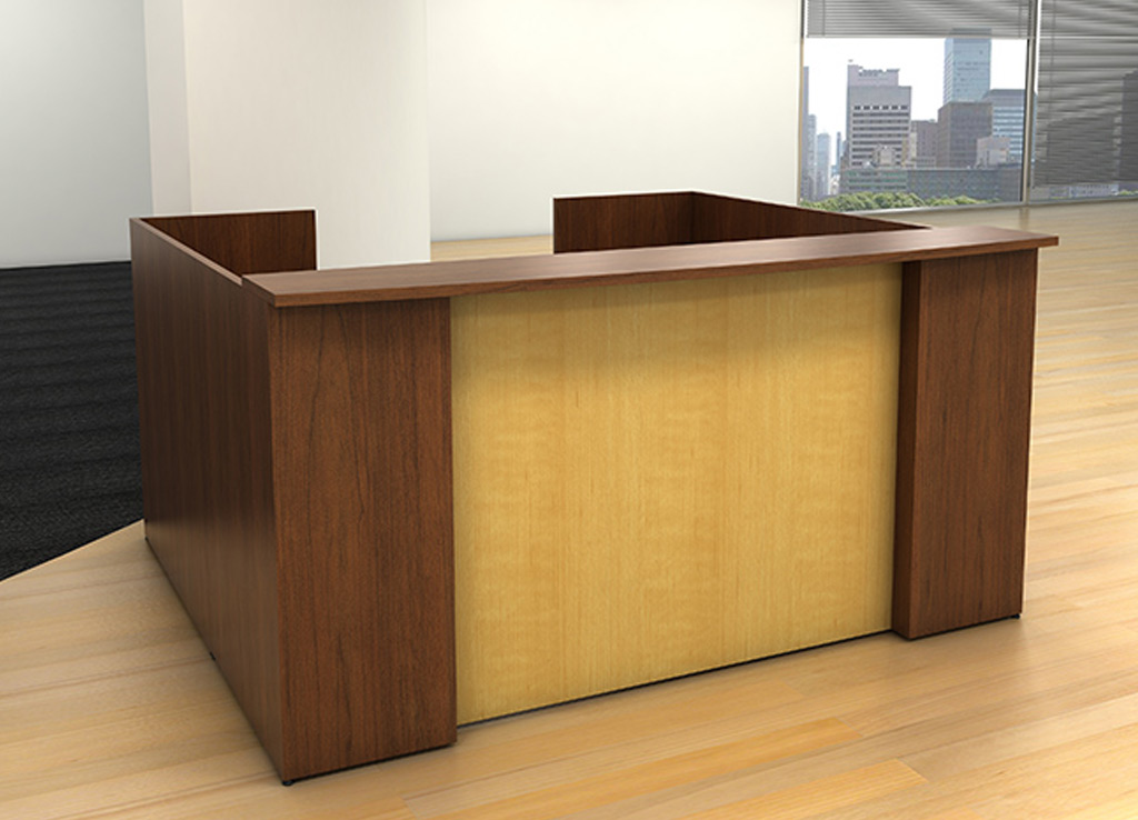 Custom Reception Desk - IOF Custom Reception Furniture