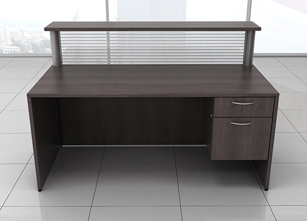 Small Reception Desk Iof Custom Furniture