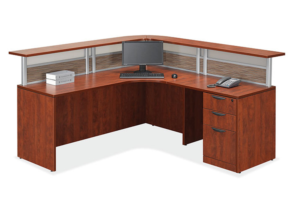 Small reception desk - Borders II Reception Furniture