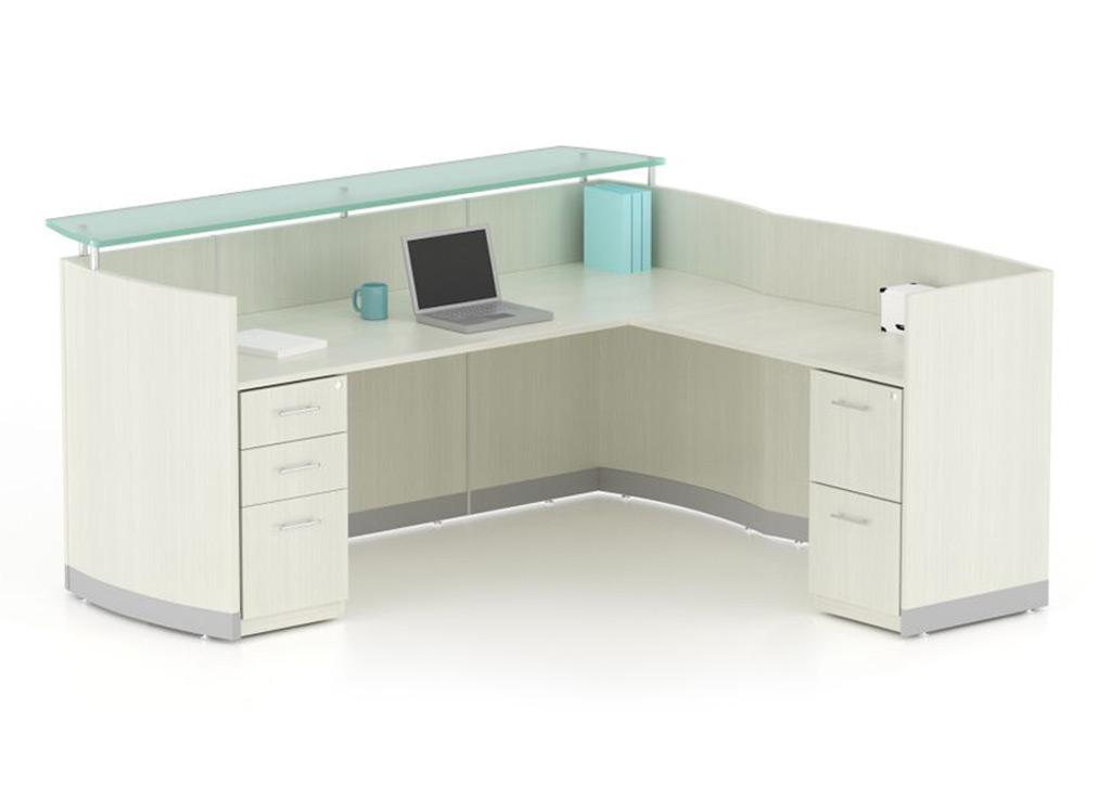Contemporary Reception Desk Modern