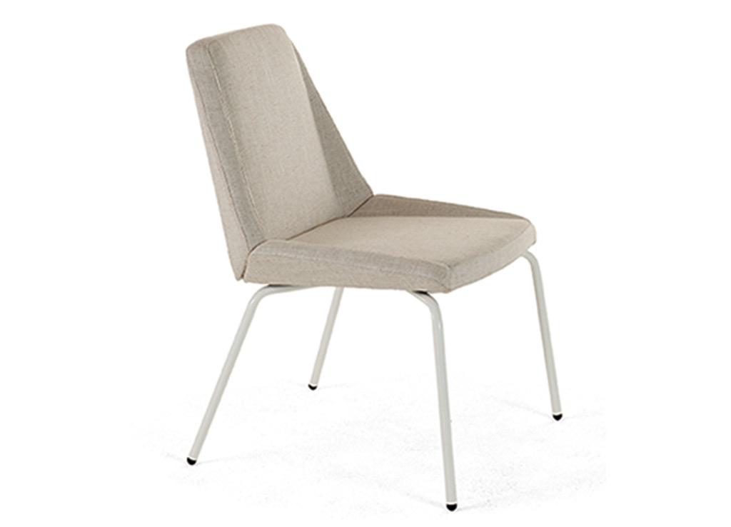 Office reception chairs from Arcadia - available with metal legs.