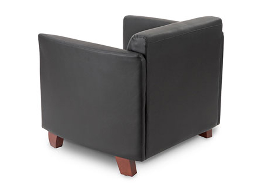 Office reception chairs from Compel - Rear / Back View