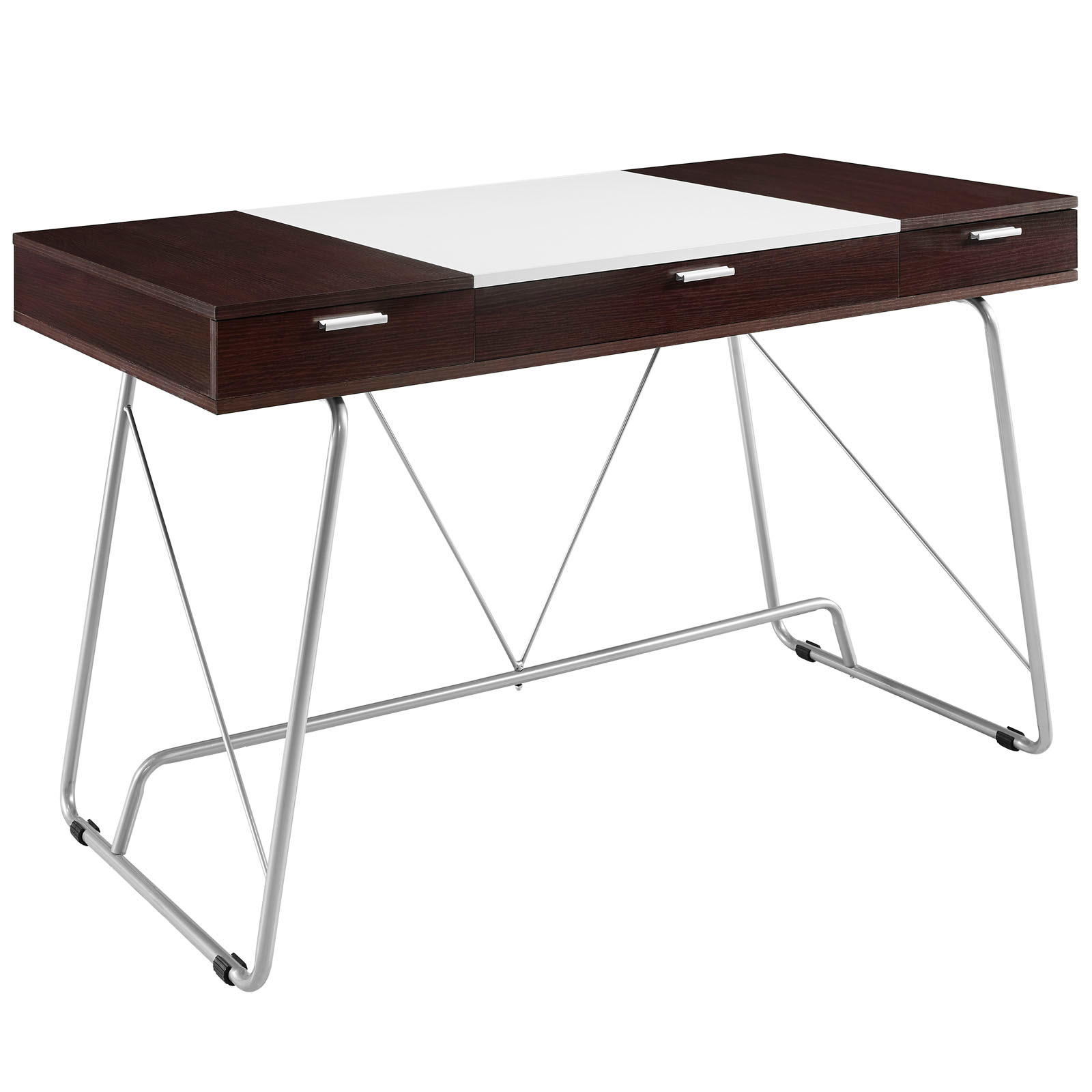 furniture cool office desk. space saving desk from modway shown in cherry brown furniture cool office