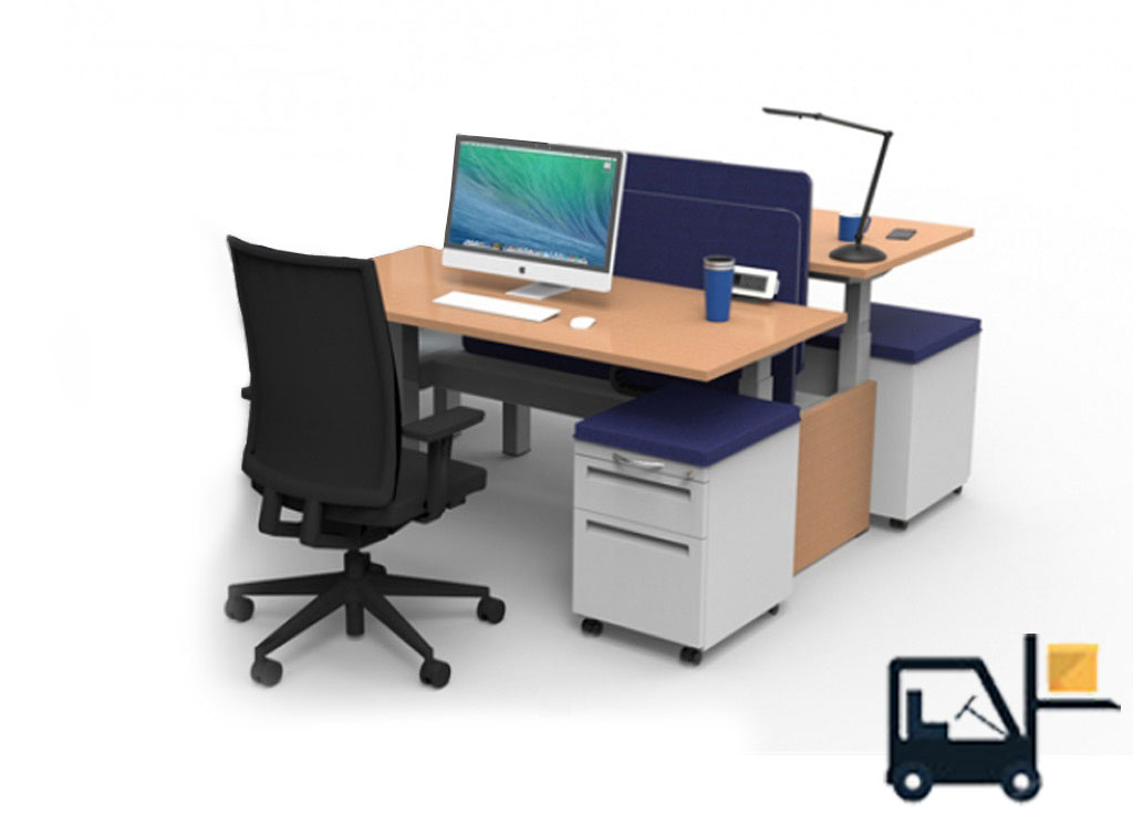 Stand Up Computer Desk - RISE Sit Stand Desks