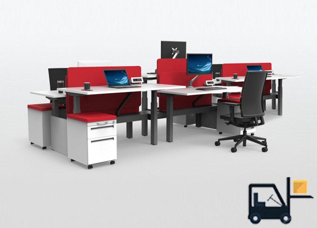 ergonomic computer desk rise sit stand desks - Stand Up Workstation