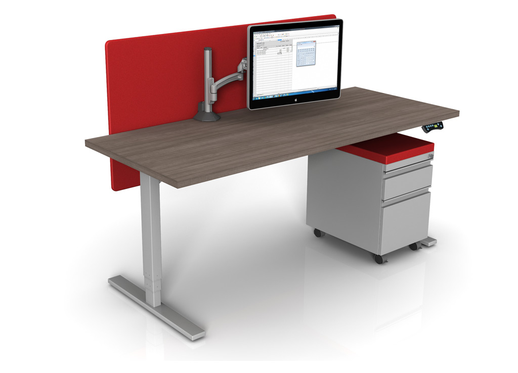 Sit To Stand Desk Desktop Tabletop Standing Desk