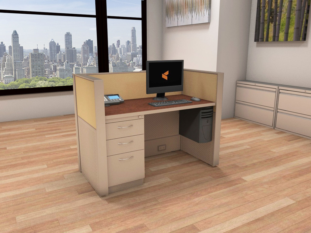 Call Center Workstations - Matrix Cubicle Systems