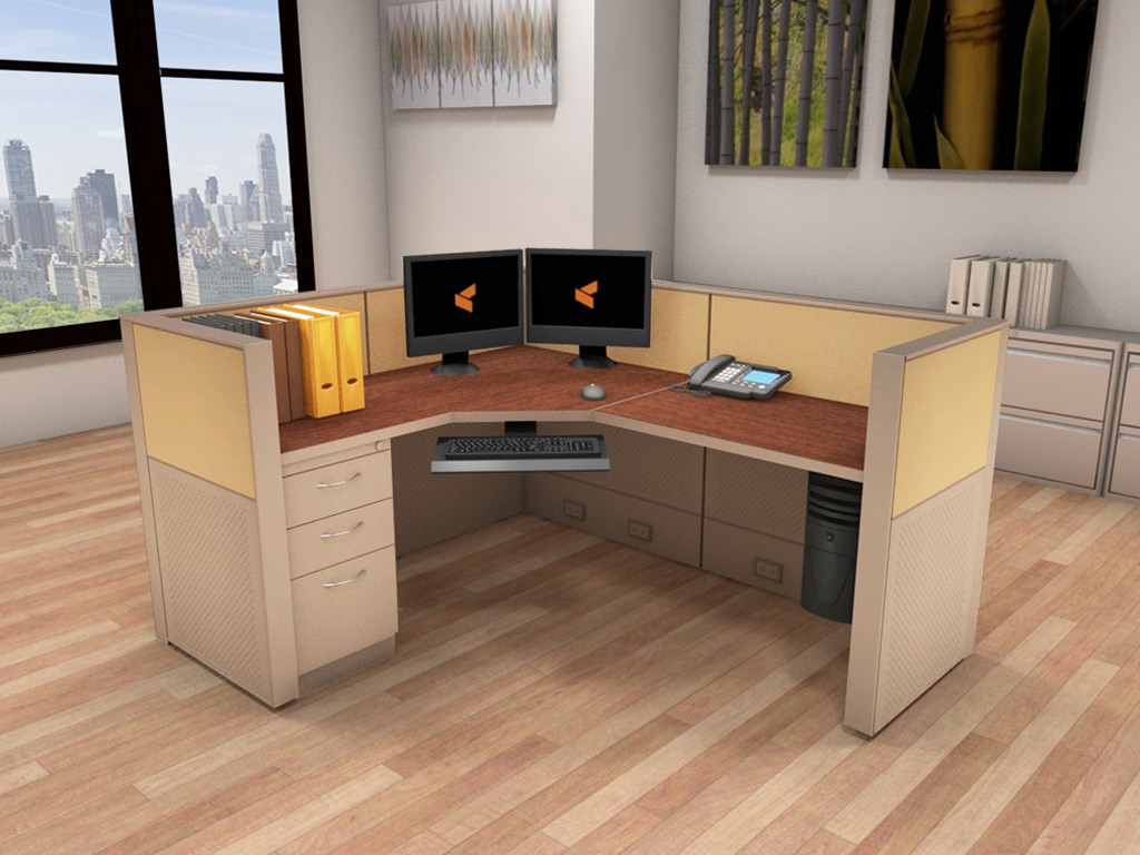 Office Work Station - Matrix Cubicle Systems