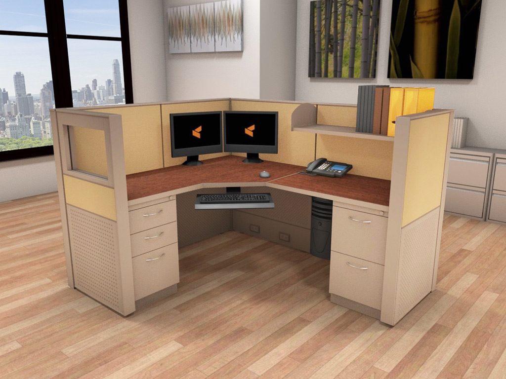 Office Work Stations - Matrix Cubicle Systems