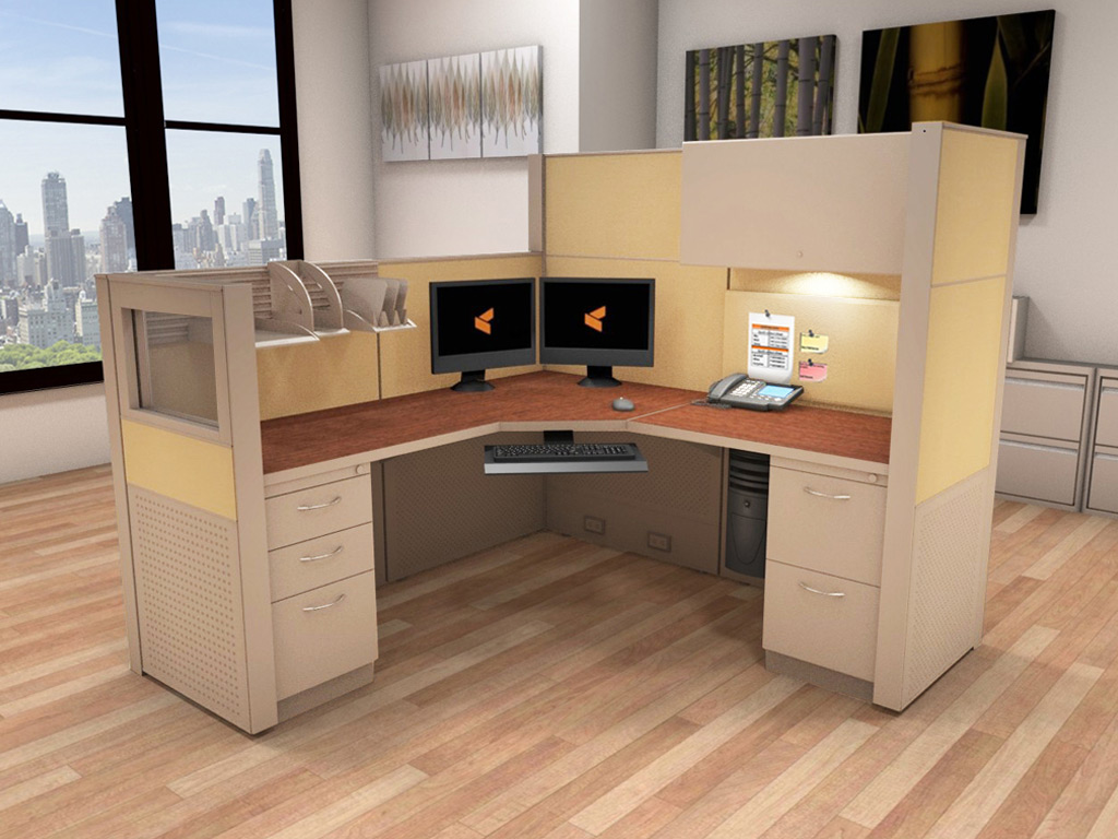 Office Furniture Workstations - Matrix Cubicle Systems