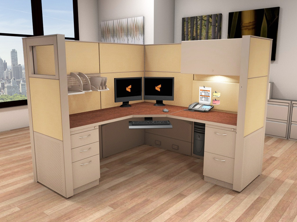 Cubicle Workstation - Matrix Cubicle Systems