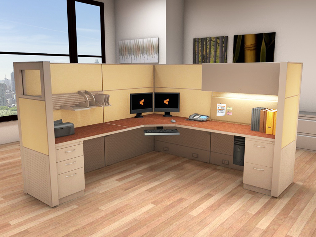 Office System Furniture   Matrix Cubicle Systems
