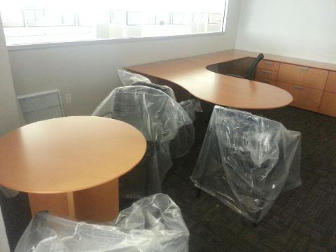 Used Office Desks - Global Dufferin Desk