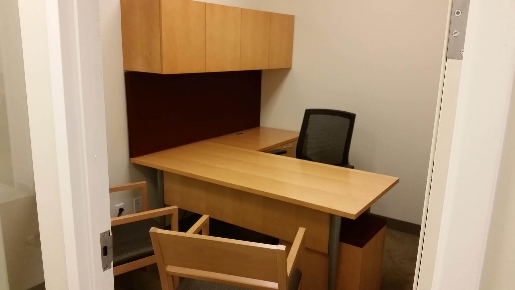 Used Teknion Desk Set Used Office Furniture