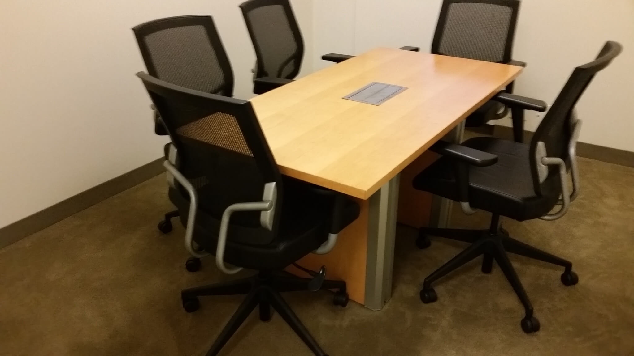 Used Teknion Conference Table 5x2 5 Used Office Furniture
