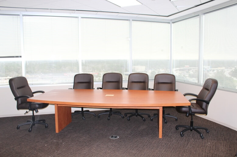 Used Conference Room Tables - Laminate Top Table - Used Office Furniture For Sale