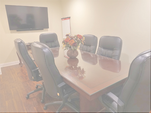 Used Conference Room Tables - Glass Top Table - Used Office Furniture For Sale