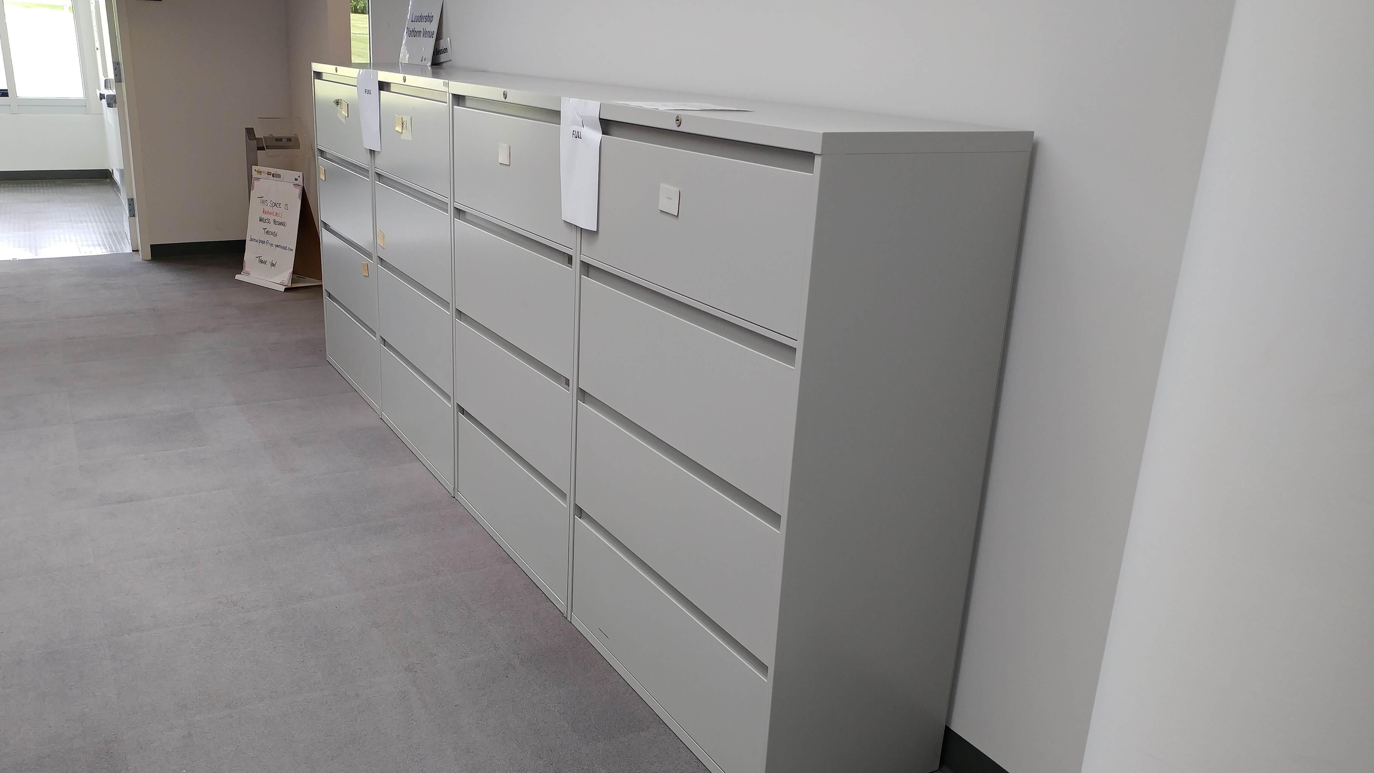 Used File Cabinets - Steelcase 900 Laterals - Used Office Furniture