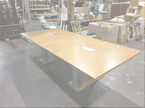 Used Wood Conference Table Used Office Furniture - Marble conference table for sale