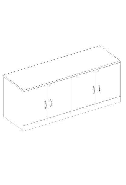 Used File Cabinets & Storage from Global - 3D schematic