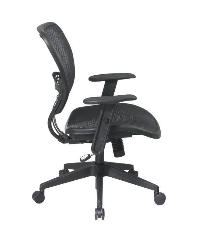 Second Hand Office Chairs from Global - Side View