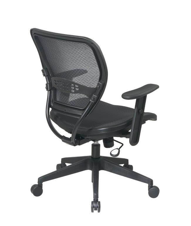 Second Hand Office Chairs from Global - Rear View