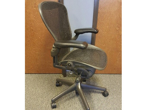 Second Hand Office Chairs FromHerman Miller   Side View