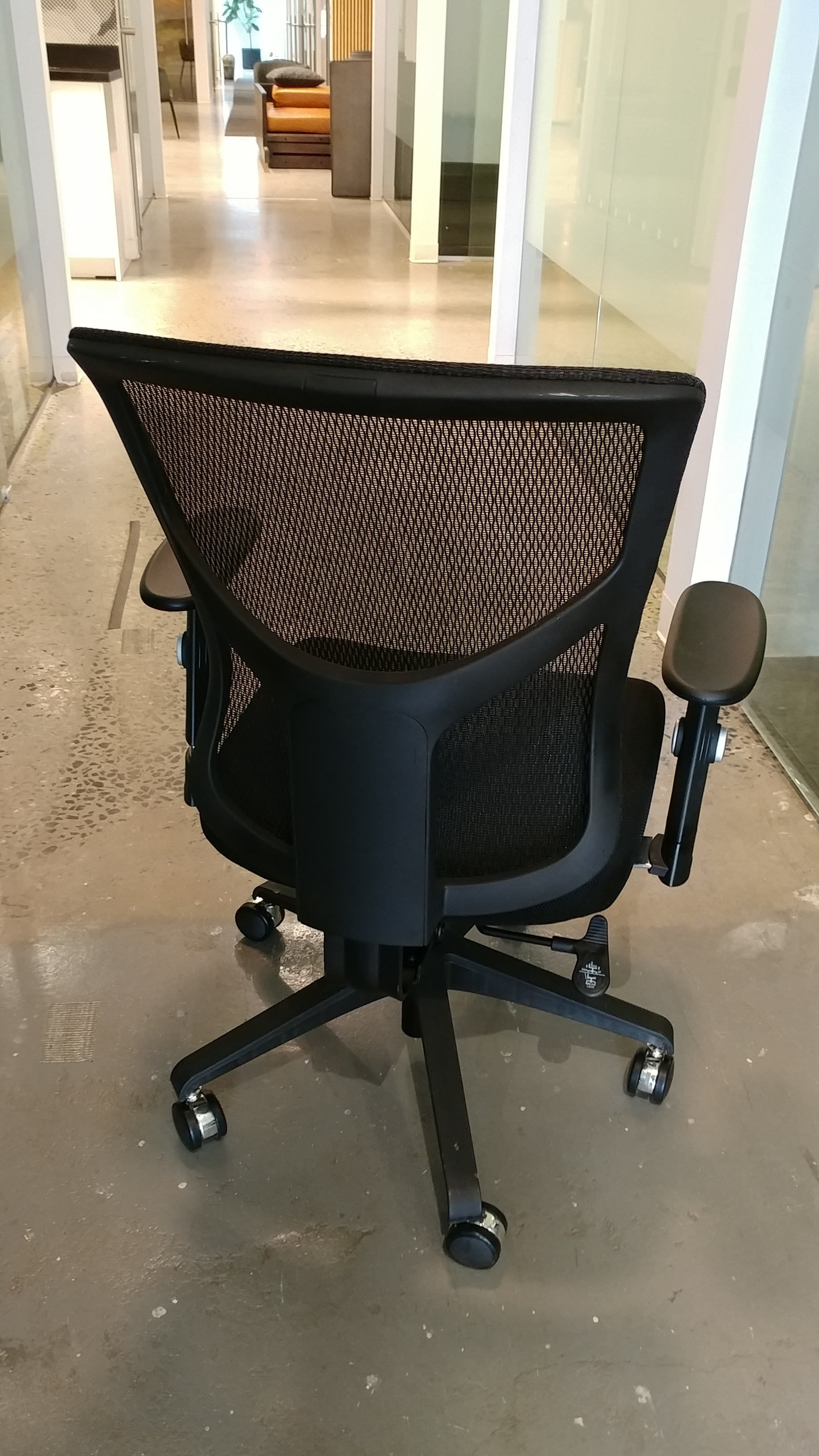 Used Desk Mesh Chairs