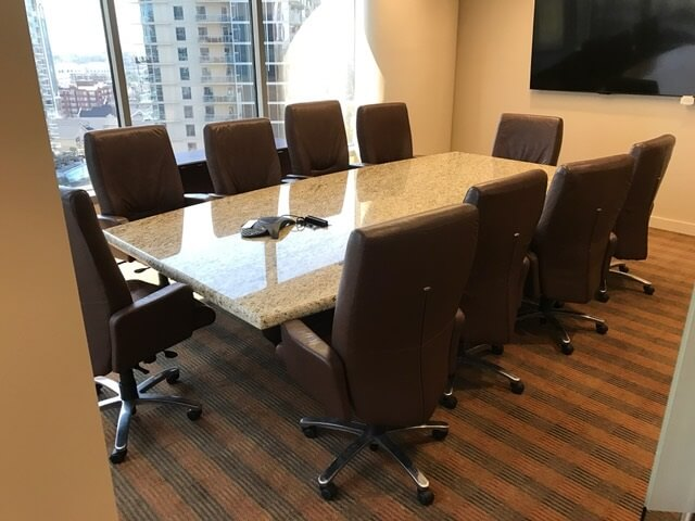 Used Granite Conference Table