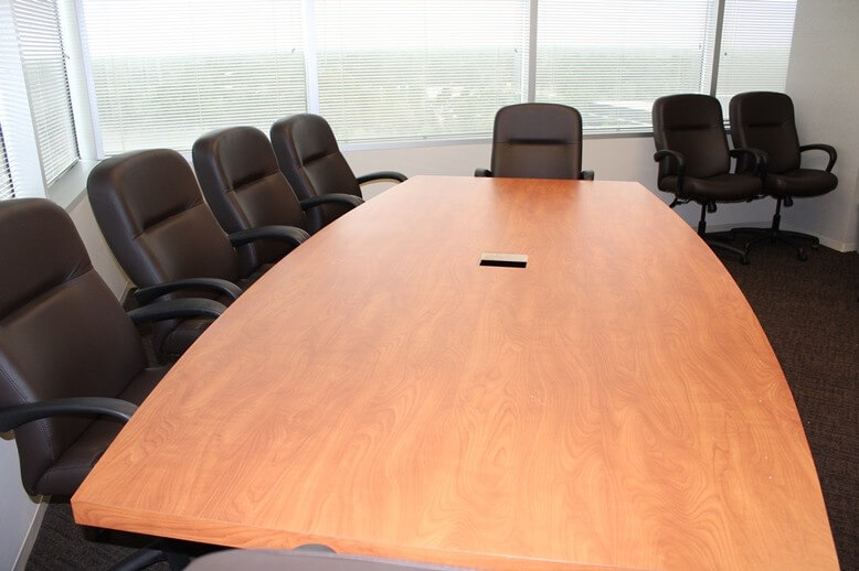 Laminate Top Conference Table - Excellent Condition