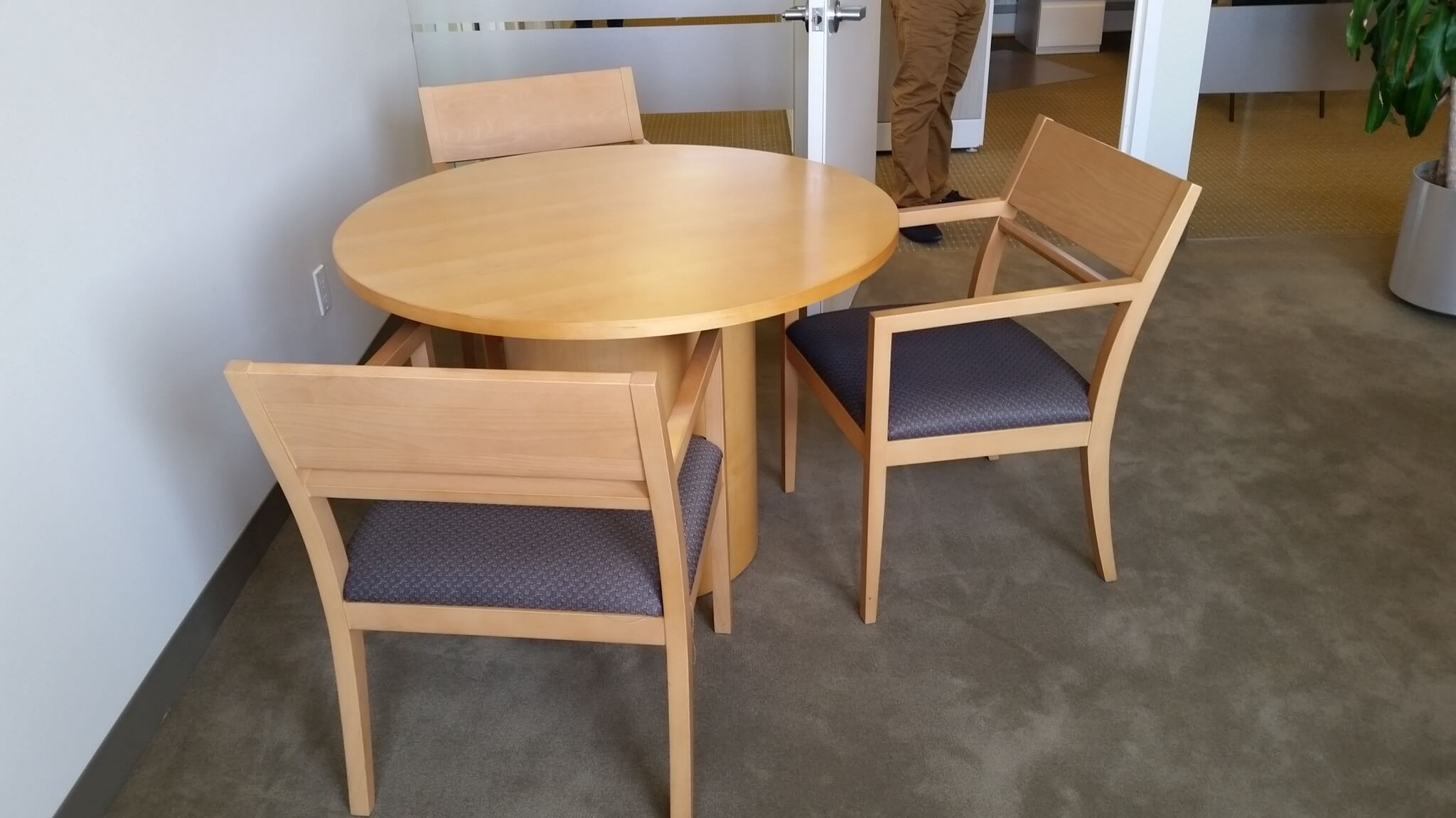 Teknion Used Wood Guest Chairs Second Hand fice Chairs Used fi
