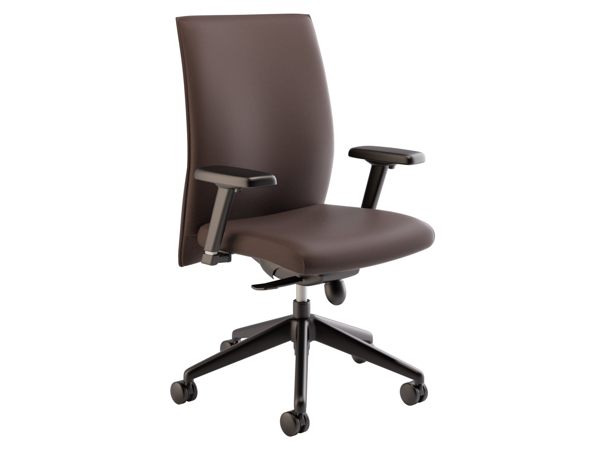 Exceptionnel Brown Office Chair   Maxim Chairs For Office