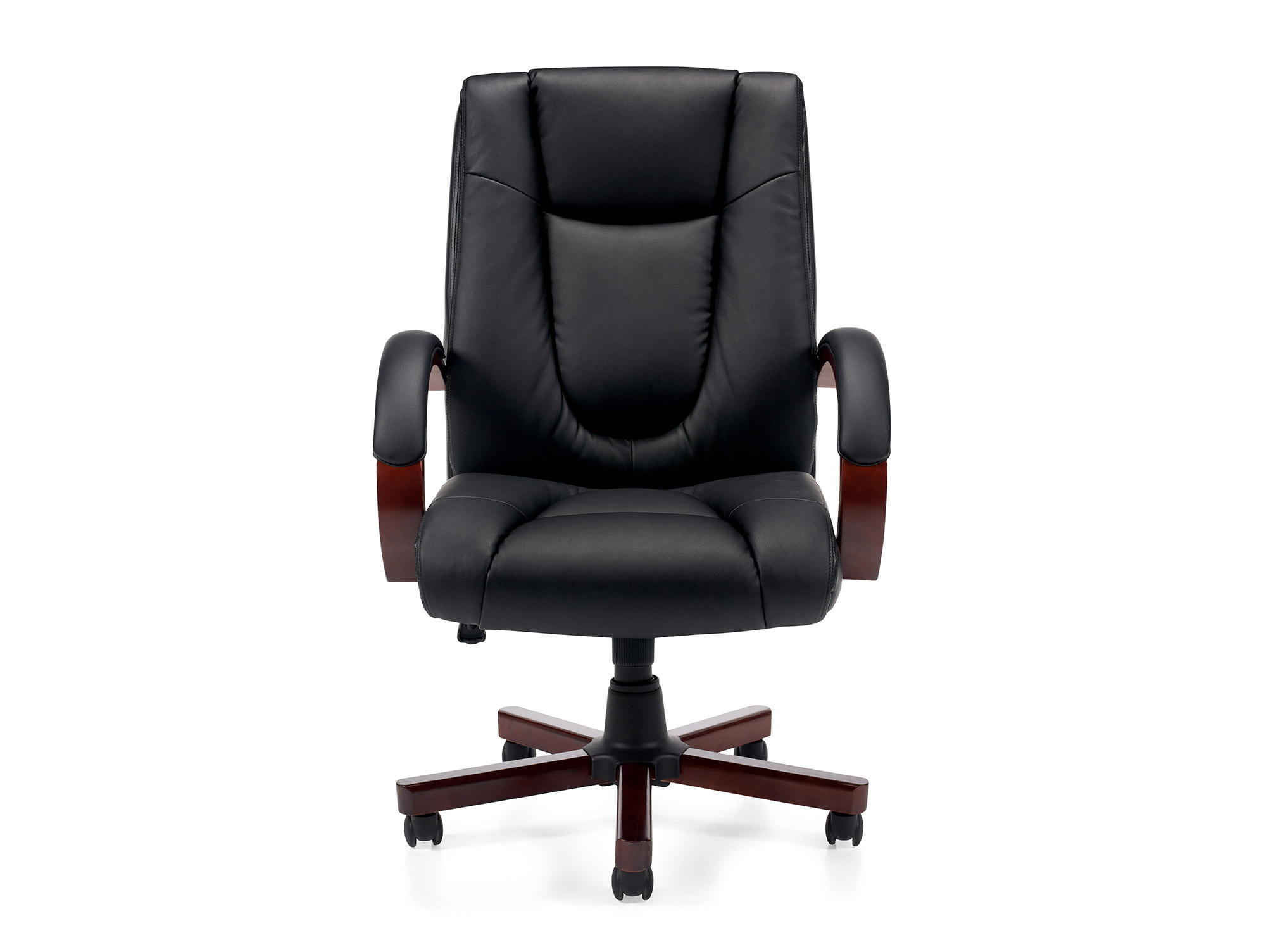 Wood Office Chair Conference Style Seating Chairs For