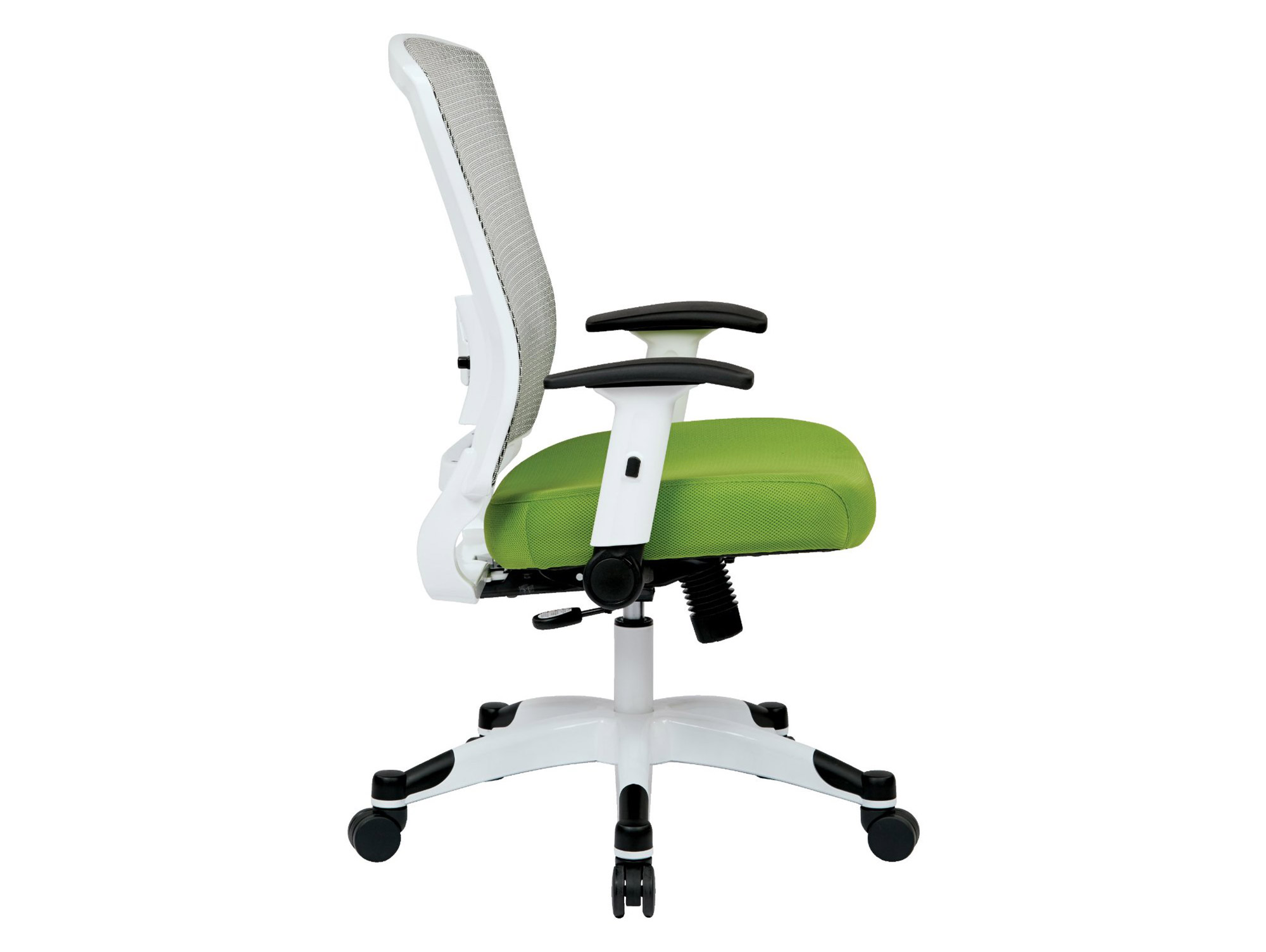 Green chair for office - Office Task Chairs From Office Star Side View