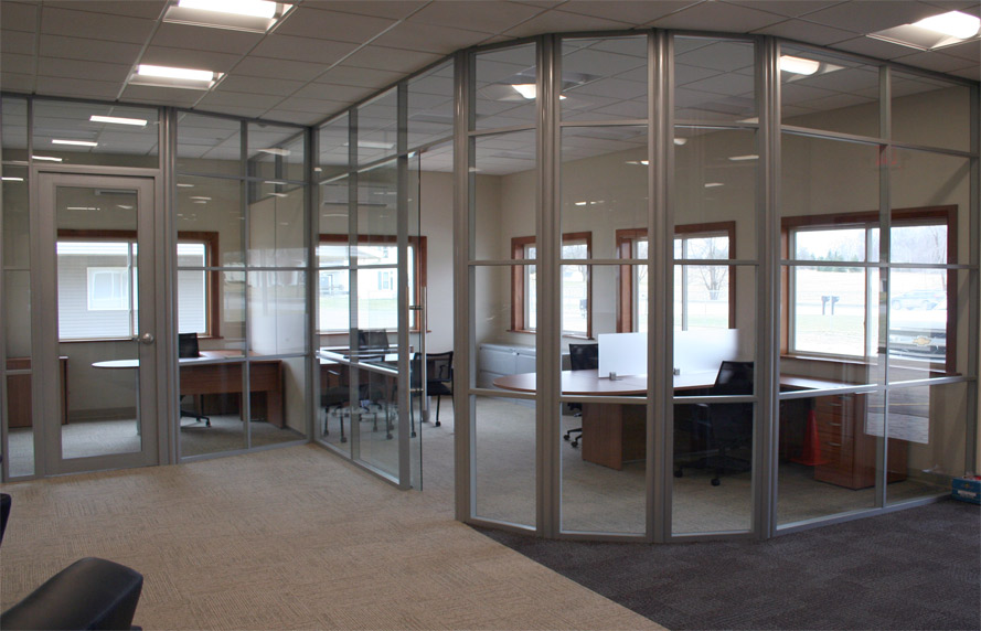 Glass Partitions For Office - Flex Glass Partition Walls