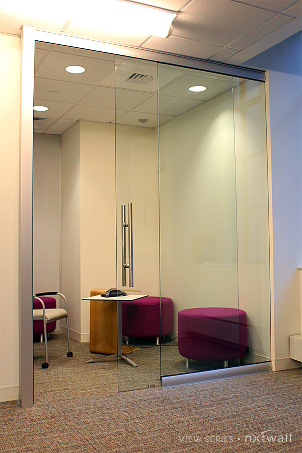 Glass Office Doors - View Glass Partition Walls