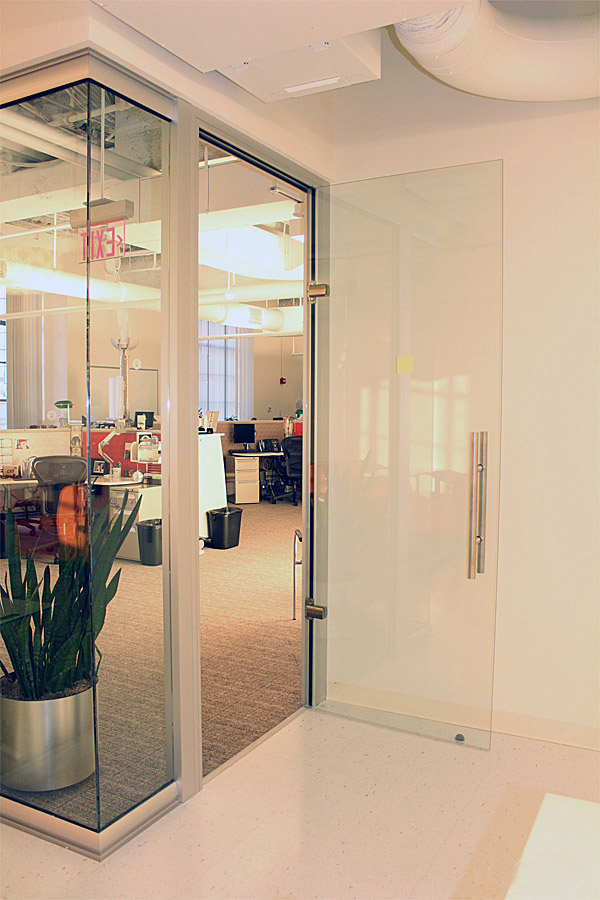 Glass Office Partitioning - View Glass Partition Walls