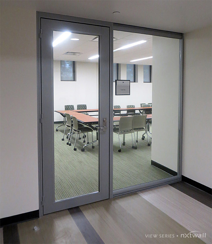 Glass Office Door - Flex Glass Partition Walls