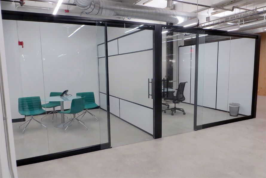 Glass Wall Office - Flex Glass Partition Walls