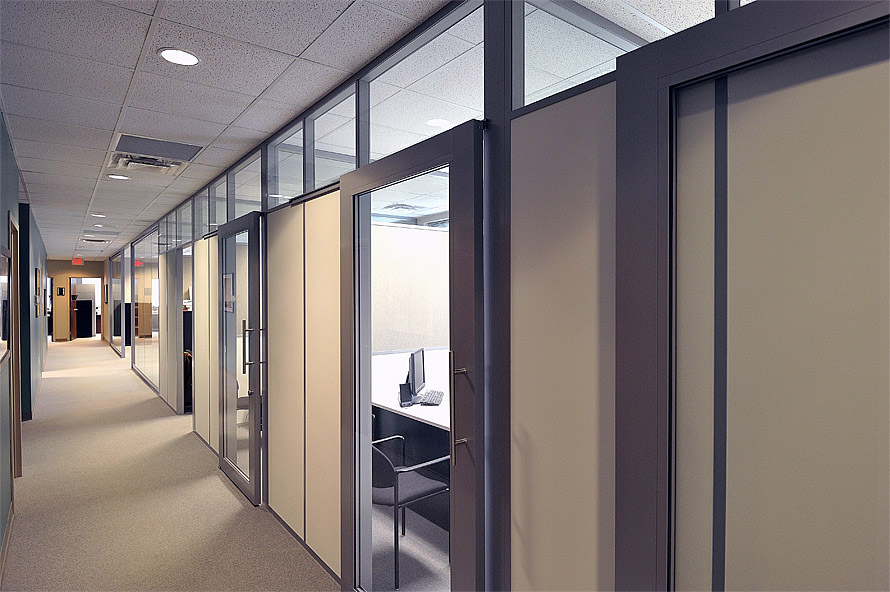Aluminum Partition Systems - Flex Glass Partition Walls