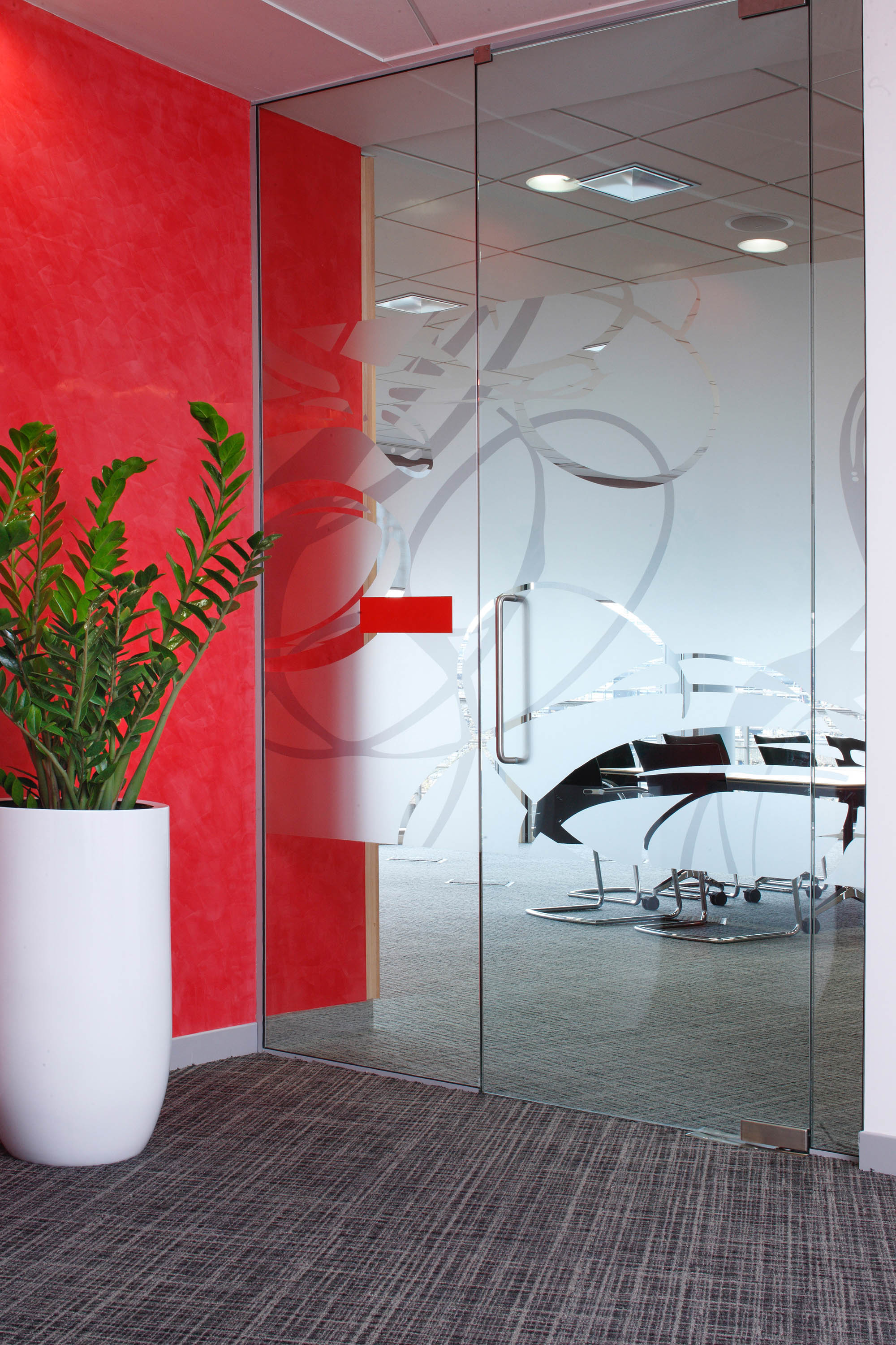 Frameless Glass Door - Architectural Simplicity Glass Partition Walls