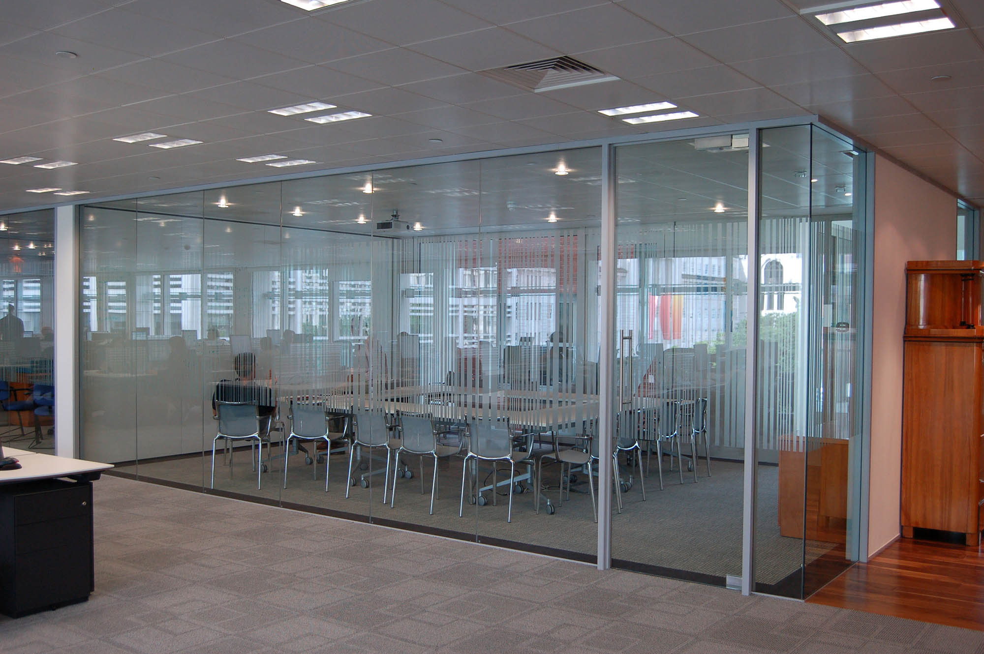 Glass Offices - Architectural Simplicity Glass Partition Walls