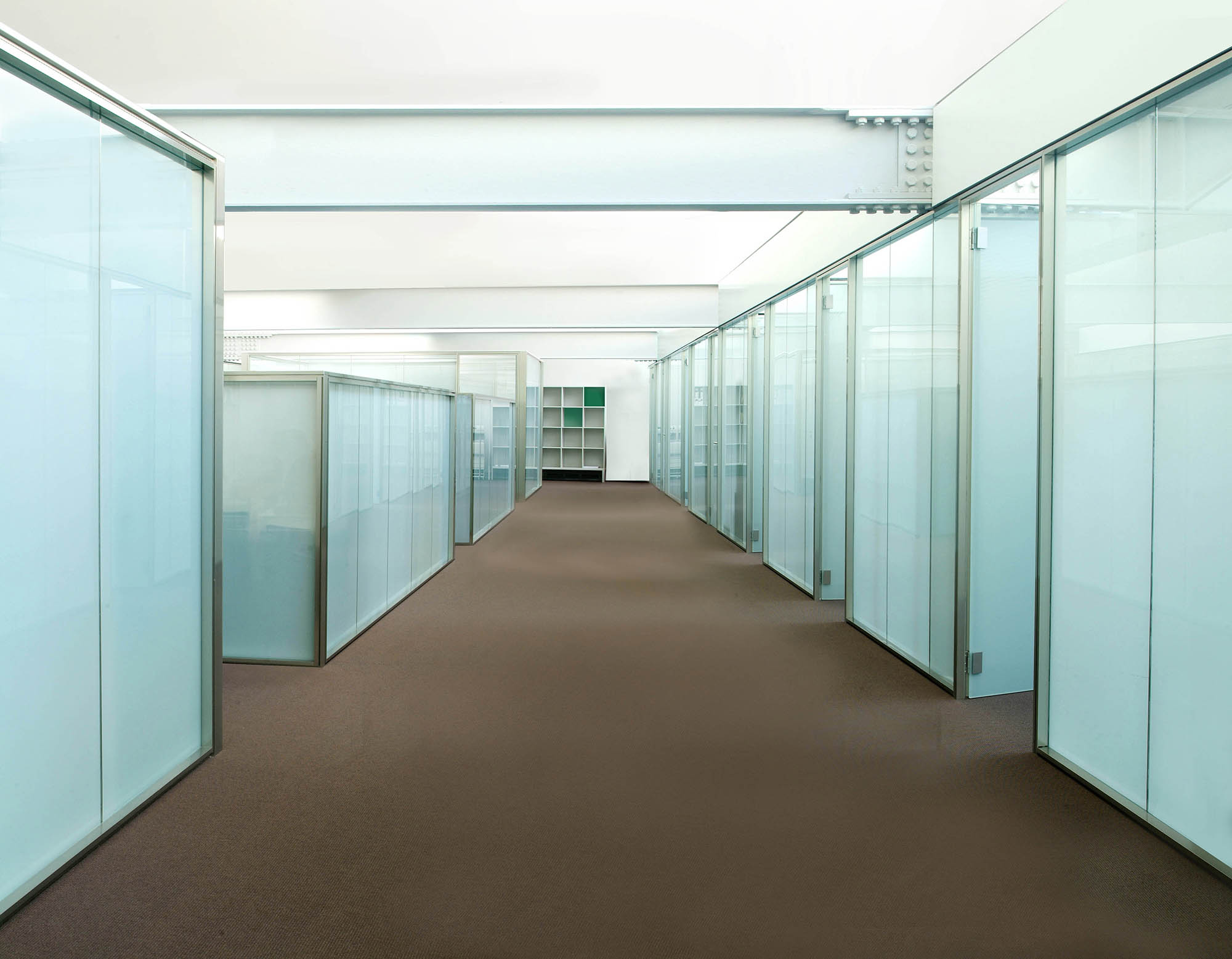 Glass partition walls by for Glass walls