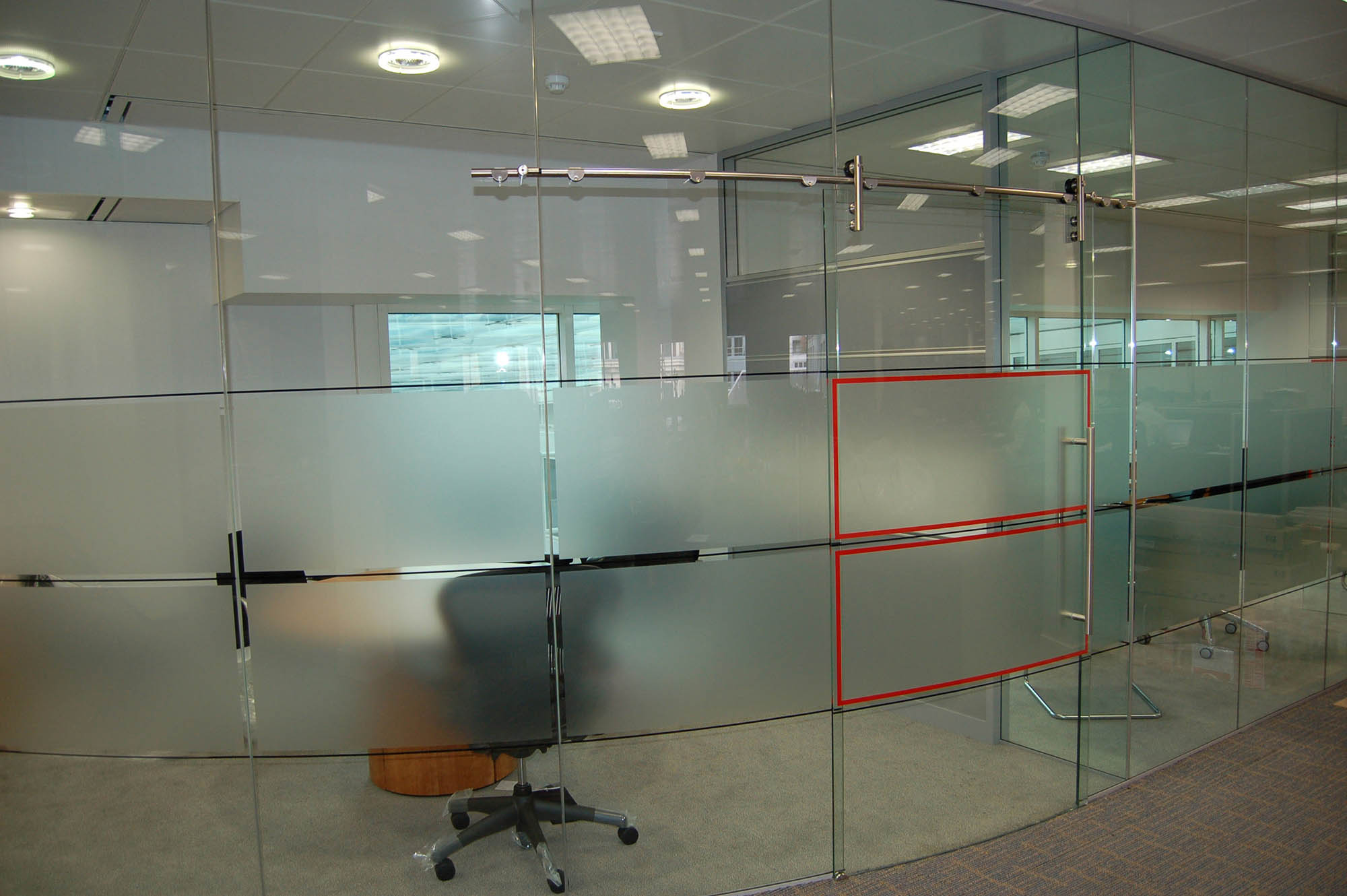 Office Glass - Architectural Simplicity Glass Partition Walls