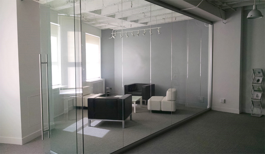 glass partitions for office -glass room dividers-glass partition walls