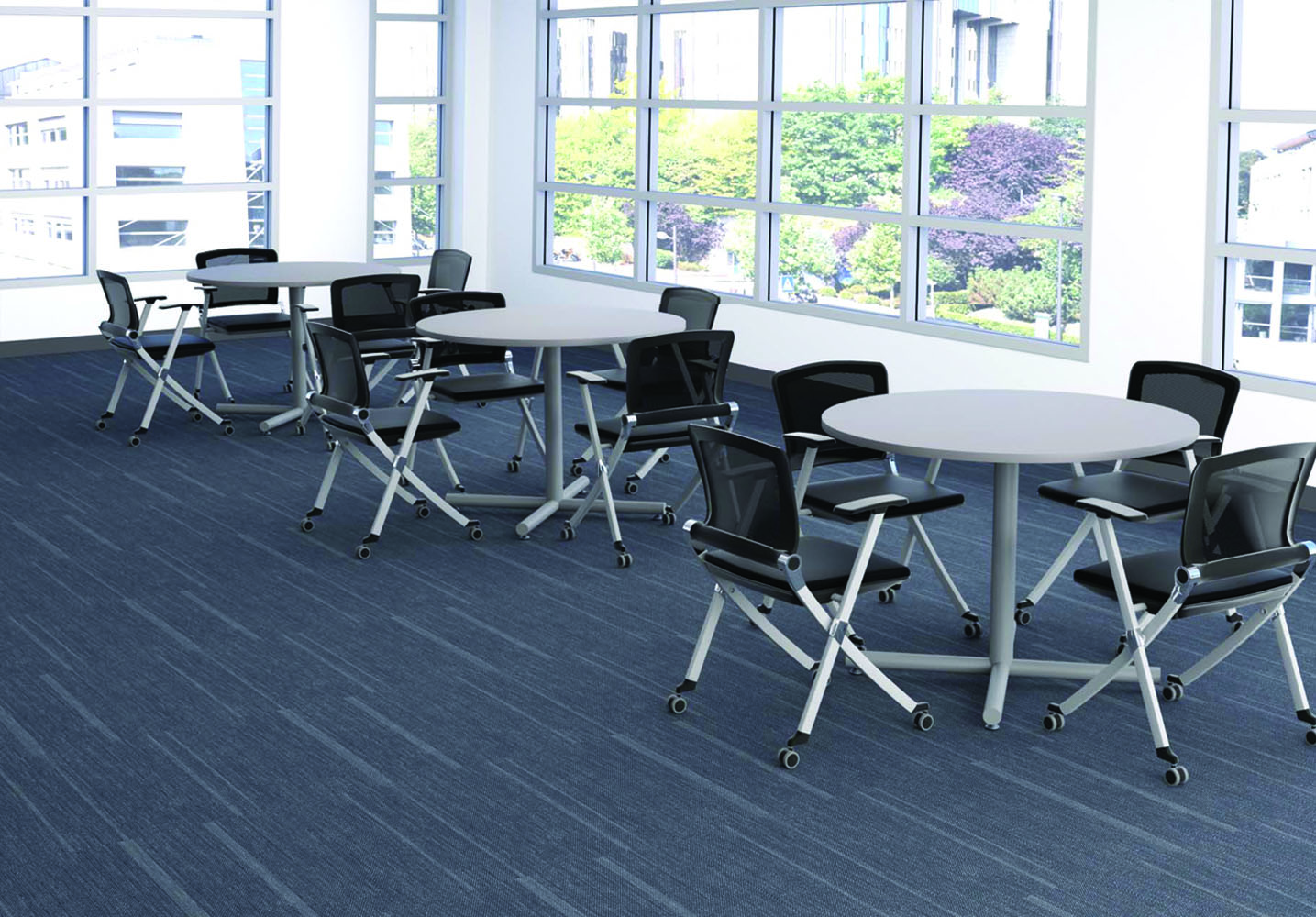 Cafe Chairs And Tables - Multi Use Office Furniture Sets